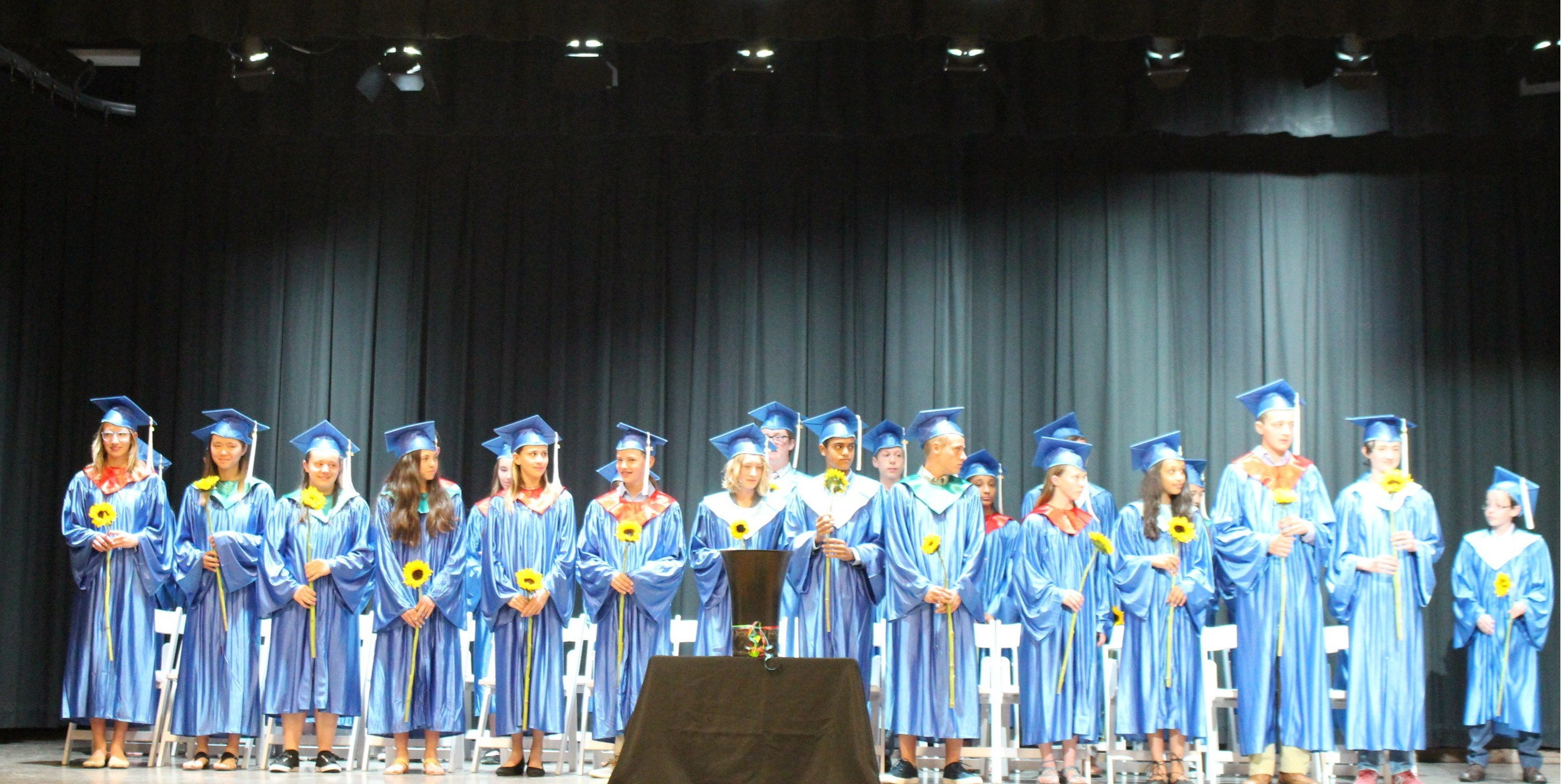 8th Graders Graduate and are Awarded With Words