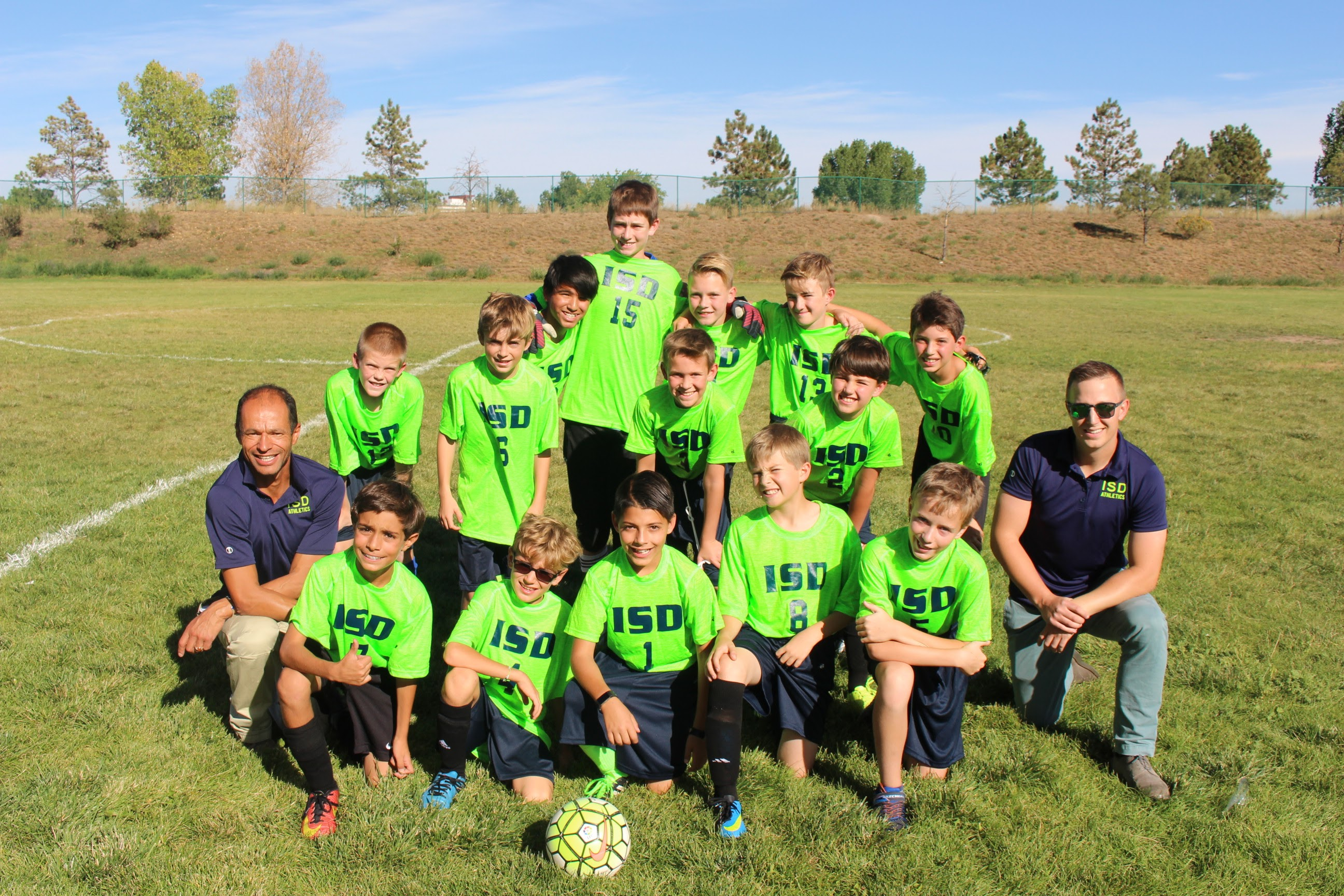 ISDenver Boys' Soccer Team