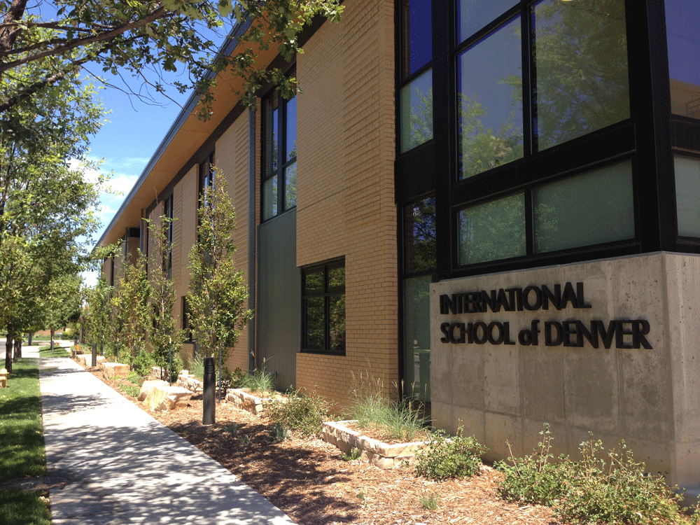 ISDenver exterior school building photo
